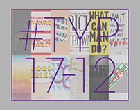 #TYP17-12 Poster Series