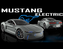 Electric Mustang GTE (MACH-E) coupe