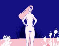 Ilustraciones para revista digital Soy la Zoila