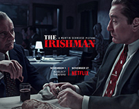 The Irishman — Key Art Poster Concepts — byDBDS®