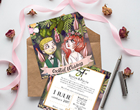 Wedding Invitation & Illustration