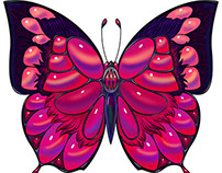 Winged Jewels series for NeonMob