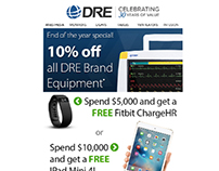 DRE Medical Equipment - Email Newsletters