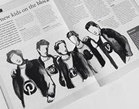 Marketing Tribune Illustrations