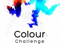 Colour Challenge logo design