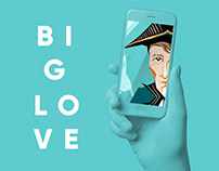 "MOBILE GAME ""BIG LOVE"""