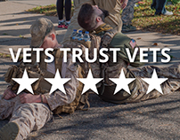 TroopScore is effective because vets trust vets.