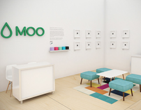 Moo Interior Set Design : Art Basel / Scope Fair 2014