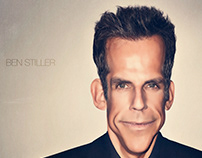 Ben Stiller / Art / Illustration / Retouch