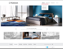 Kelebek / Web & Mobile Interface Design