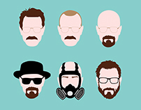 T-shirt design Walter White