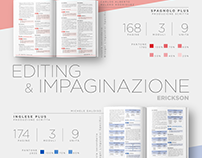Manuali BiLS inglese e spagnolo - Erickson