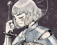 Joana D´Arc Illustration