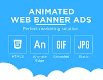Animated Banner Ads | HTML5 | Gif