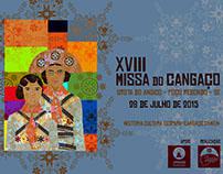 Projeto Gráfico -XVIII Missa do Cangaço - Sergipe