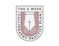 Laura Hooper Calligraphy Practice Plan Logo