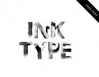 Ink Type - Free Font - Bitmap