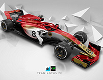 Re:Imagined - Team Lotus 72 Livery