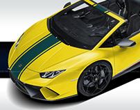 Lamborghini Huracan Performante Spyder 4our Elements