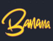 Banana Hand Lettering | Ipad Pro