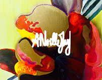 Abstract ANoelleJay Acrylic paintings