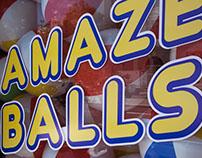 Amaze Balls Window Display