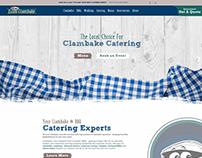 Essex Clambake - Catering Website