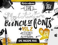 Big Bunch of Fonts Vol 2