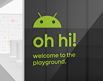 Android Playground - Pop-up Showroom
