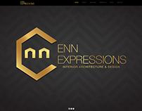 ENN EXPRESSIONS logo design