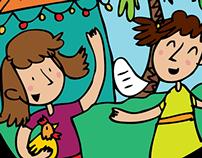 Children's resource illustrations