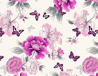 Oriental floral