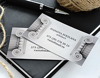Different visit cards