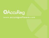 AccuReg product slicks