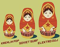 ELEKTRONIKOV Poster Design Fo DJ Performance