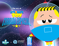 "The art of ""Astronauta Toy: Corrida Espacial"""