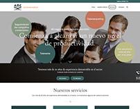 Web para empresa de secretariado telefónico