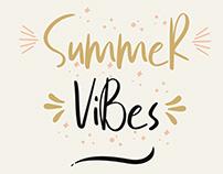 Free Summer Vibes Script Font