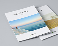 Magazine / Brochure Mock-Up / 3D Visualization