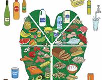 Taro Leaf Food Illustration