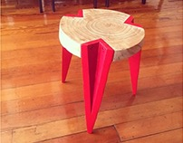 Upcycled BOS stool