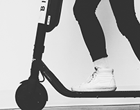 bird electric scooter ux