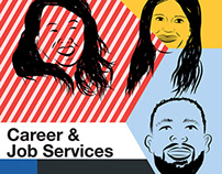 Career & Job Services Doodle Ad