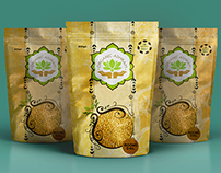 Package Design - Organic Ashram
