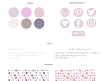 Branding package for Lilac place.