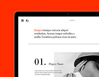 Folio.2 - Adobe Muse Template