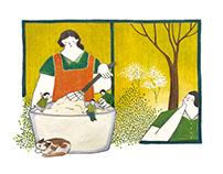 聯合報 newspaper illustrations 2016/7-10