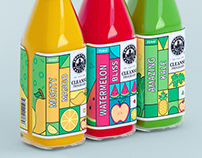 SMOOTHIE FACTORY   packaging redesign