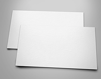 Mockup Business Card Free