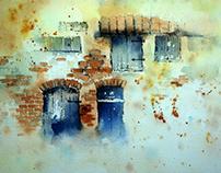 Facade Watercolor